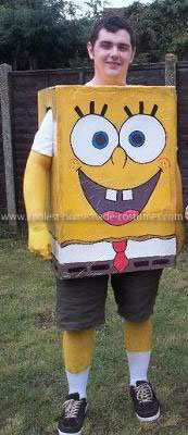 Coolest Spongebob Adult Costume