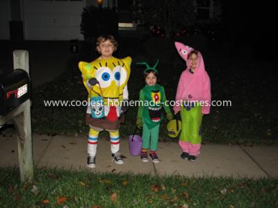 Coolest Spongebob, Patrick and Plankton Costumes 12