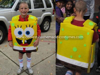 Coolest SpongeBob SquarePants Costume 52