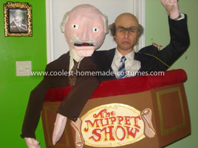 Homemade Statler and Waldorf Costume