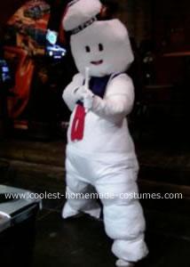 Stay Puft Marshmallow Man Halloween Costume