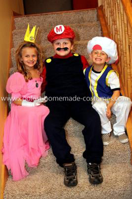 Super Mario Child Costumes