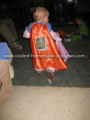 Homemade Super Why, Princess Presto and Alpha Pig Group Costumes