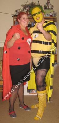 Superheros to the Rescue DIY Couple Costume