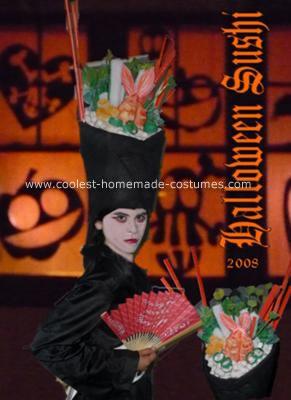 Homemade Sushi Geisha Costume
