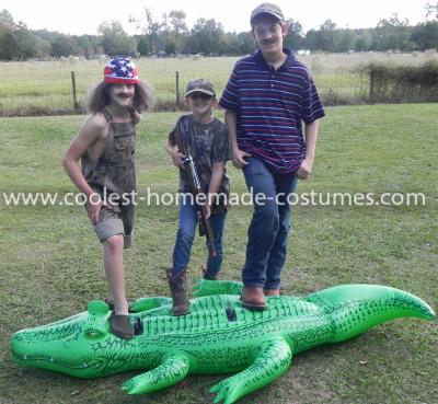 Homemade Swamp People Costume