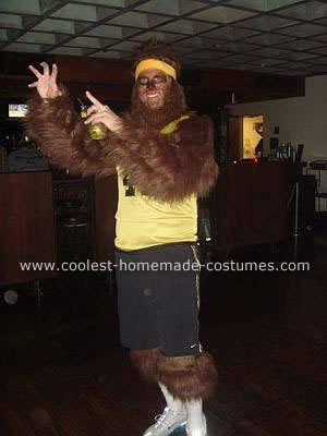 I went all out for this Teen Wolf costume and it really paid off.