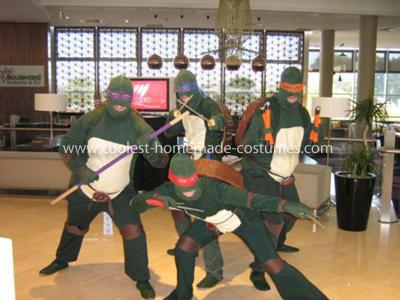 Coolest Teenage Mutant Ninja Turtles Group Costumes