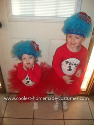 Coolest Thing 1 and Thing 2 Costumes 34