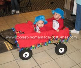 Thing 1 and Thing 2 Halloween Costume