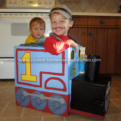 HomemadeThomas The Train Costume