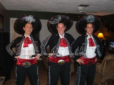 Homemade Three Amigos Costume