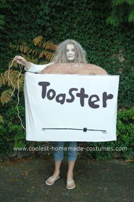 Homemade Toaster Costume