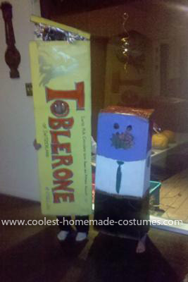 Coolest Toblerone Costume