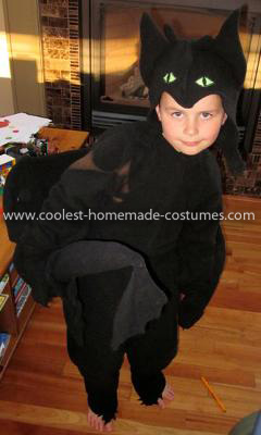 Coolest Toothless Night Fury The Dragon Costume 6
