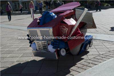 Coolest Transforming Optimus Prime Costume 33