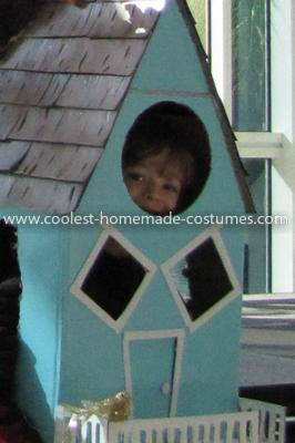 Homemade Treehouse Costume