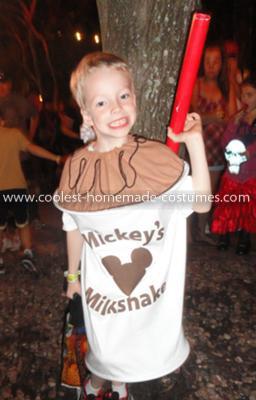 Coolest Milkshake Costume