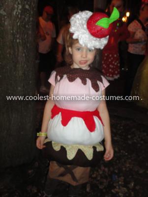 Coolest Triple Dip Ice Cream Cone Costume
