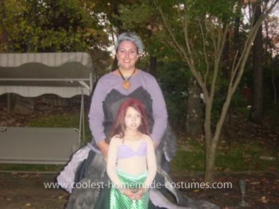 Coolest Ursula And Ariel Couple Costume 4
