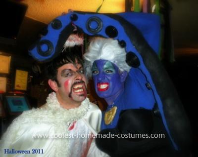 Coolest Ursula the Sea Witch Costume