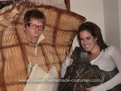 Homemade Waffle Costume