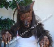Warewolf DIY Halloween Costume
