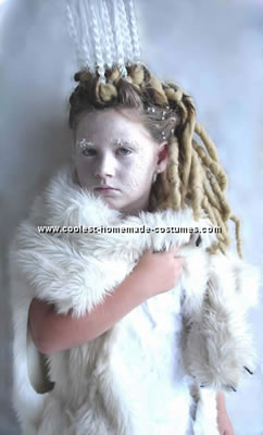 White Wrap Dress on Coolest White Witch From Narnia Costume 2