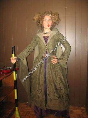 Homemade Winifred Sanderson from Hocus Pocus Halloween Costume Idea