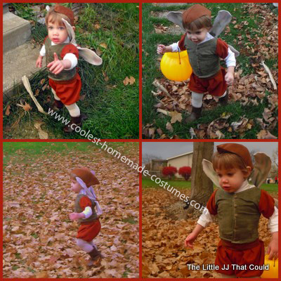 Homemade Woodland Fairy Prince Costume