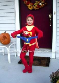 Homemade WordGirl Costume