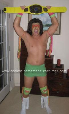 Homemade Ultimate Warrior WWF Costume