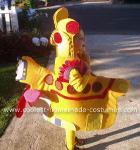 Angus in his Yellow Submarine Costume