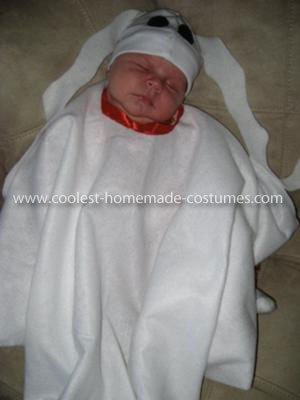 Coolest Zero the Ghost Dog Baby Costume 19