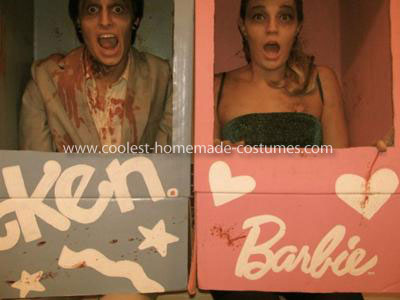 Coolest Zombie Barbie and Ken Couple Costume