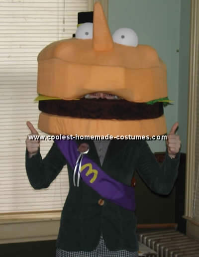 Mayor McCheese Costume for Halloween