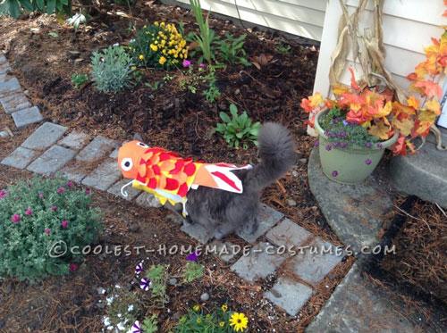 Funny Cat Fish Costume