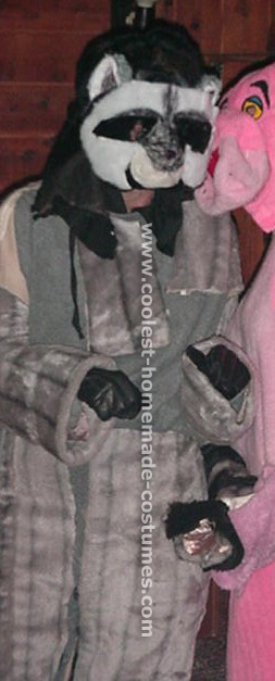 Coolest homemade raccoon costumes raccoon costumes for halloween solutioingenieria Gallery