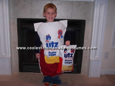 Creative Costume Idea for a Bag of Potato Chips