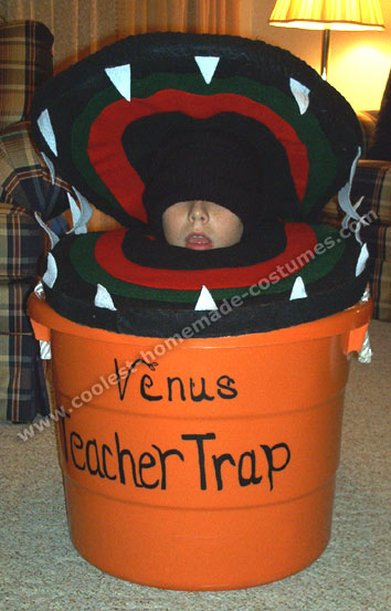 Venus Flytrap Creative Halloween Costume