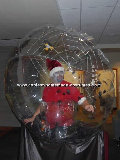 snow globe costume