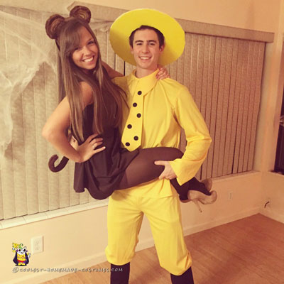 Curious George Couple Costume