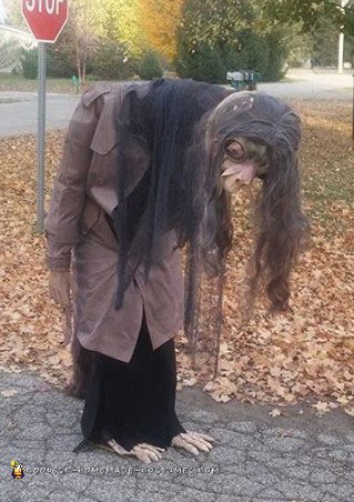 Dark Crystal Long Moving Neck Illusion Costume