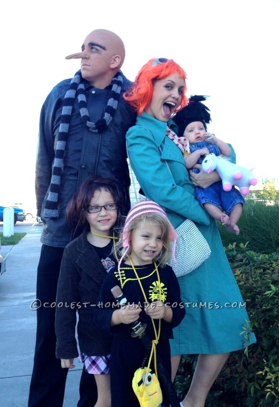 Coolest Despicable Me Costumes for a Family