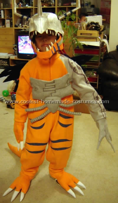 Homemade Digimon Costume