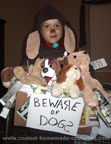 How To Make A Boxer Dog Costume For Kids