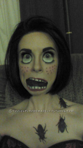 Creepy Doll Makeup – Awesome Homemade Costume That Costs Next to Nothing!