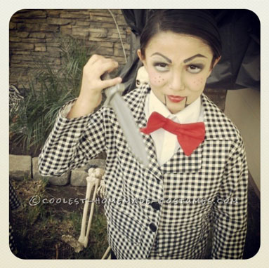 Creepy Ventriloquist Doll Costumes