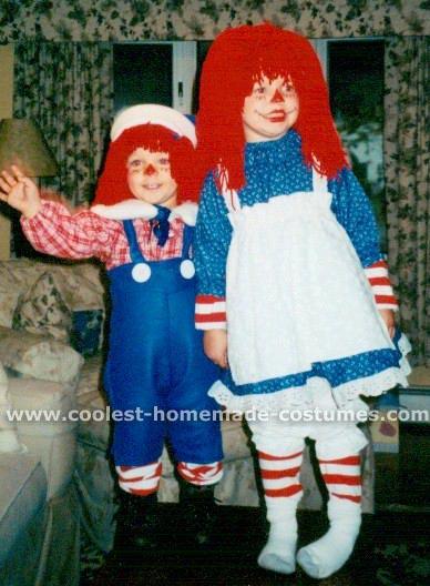 Raggedy Ann Doll Costume