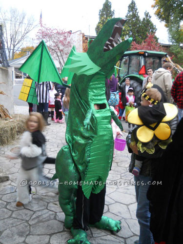 How to Build a Cool Dragon Costume